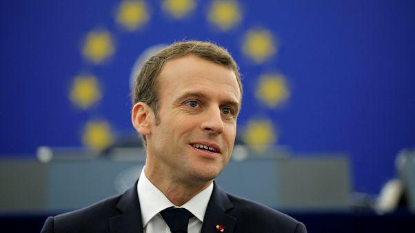 Macron seduce pero no convence, en Europa