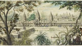 Angkor's 'modern history' with France reveals the politics of art