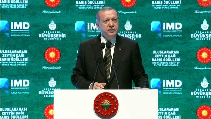 إردوغان لن يساوم بشأن القدس