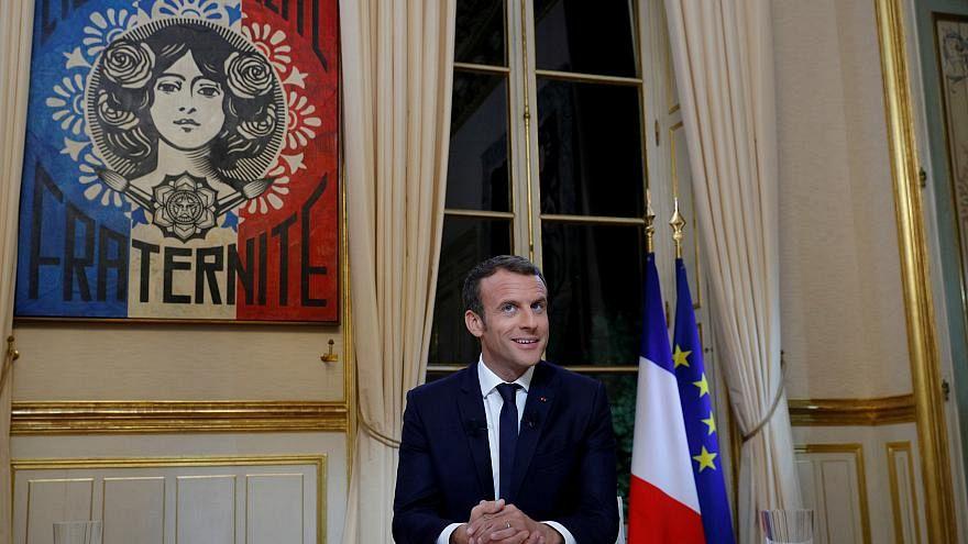 فرنسا بعد عام على حكم  إيمانويل ماكرون