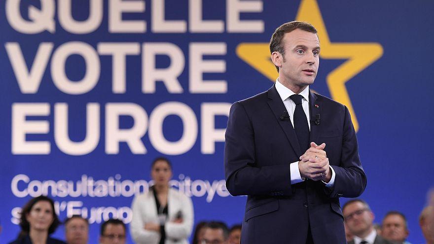 Макрон в масштабе Евросоюза