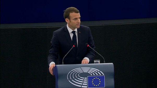 Macron's EU ambitions, one year on
