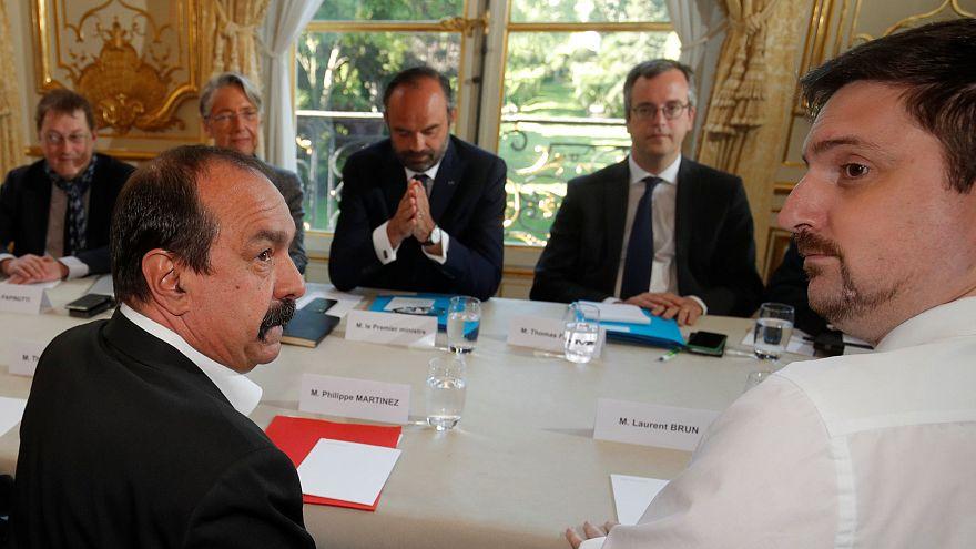SNCF : après la rencontre avec Edouard Philippe, la grève se poursuit