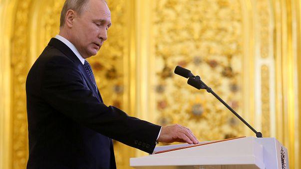 Церемония инаугурации Путина
