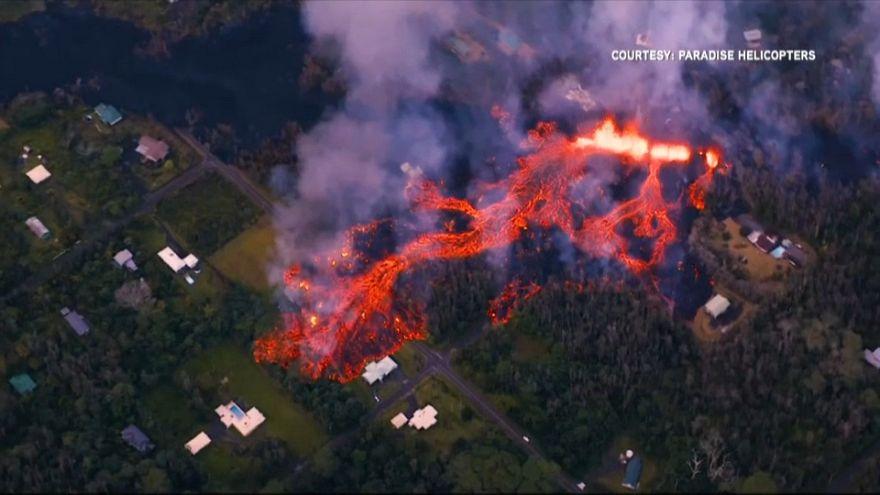 Hawaï : les ravages de l'éruption du Kalauea