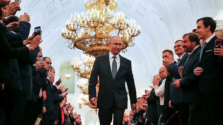Putyin hosszú, hosszú, hosszú útja a beiktatásig
