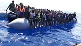 Hundreds of migrants attempt to cross the Mediterranean in flimsy boats