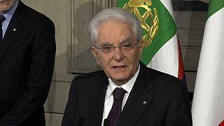 İtalya'da erken seçimin yolu açıldı