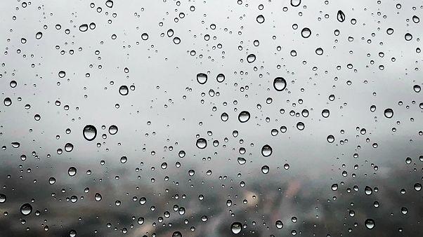 Heavy rain and hail batter China