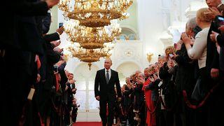 Le président russe Valdimir Poutine