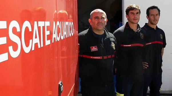Liberados sin cargos los tres bomberos acusados en Lesbos