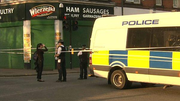 Ein Einsatzfahrzeug der Polizei in London.