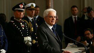 دو حزب بزرگ ایتالیا درخواست تشکیل دولت «بیطرف» ماتارلا را رد کردند