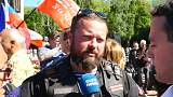 Líder da digressão dos Lobos da Noite explicou motivo da viagem à Euronews