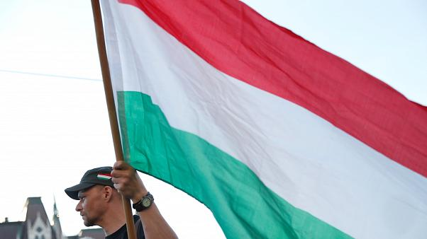 Ungheria, catena umana contro Orban