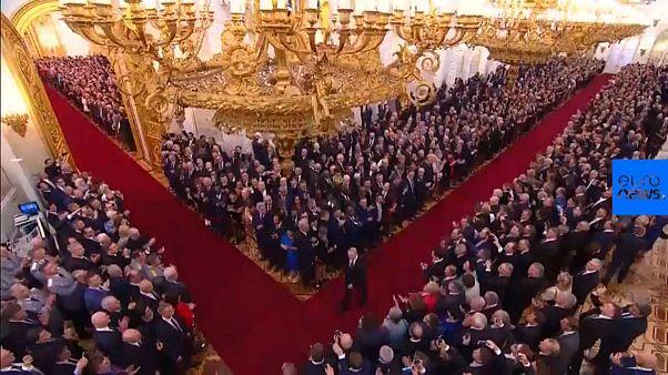 راه طولانی ولادیمیر پوتین برای ادای سوگند ریاست جمهوری