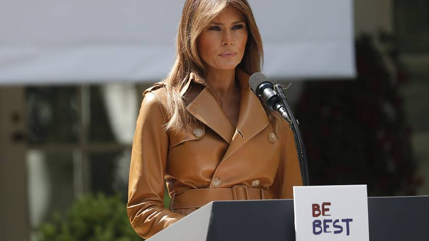 Melania Trump launches 'Be Best' campaign