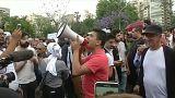 Vorwurf Wahlbetrug: Demonstration in Beirut