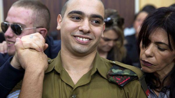 Procès soldat franco-israélien Elor Azaria en janvier 2017.