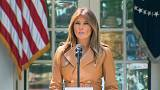Melania Trump sale de la sombra y presenta 'Be Best'