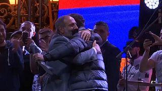 Arménie : jour J pour l'opposant Nikol Pachinian