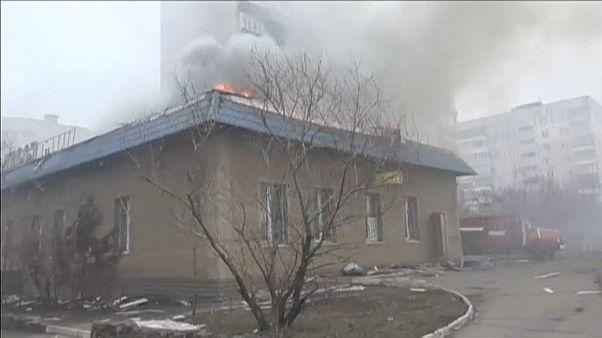Angriff auf Mariupol 2015: Ukraine beschuldigt Russland