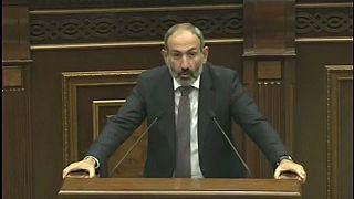 Nikol Pashinyan foi eleito Primeiro-ministro da Arménia