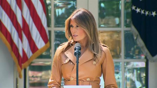 """Be best!"" Melania Trump presenta il suo programma da First lady"