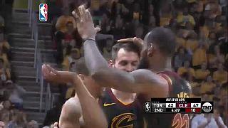 Los Cavaliers en la final de la Conferencia Este