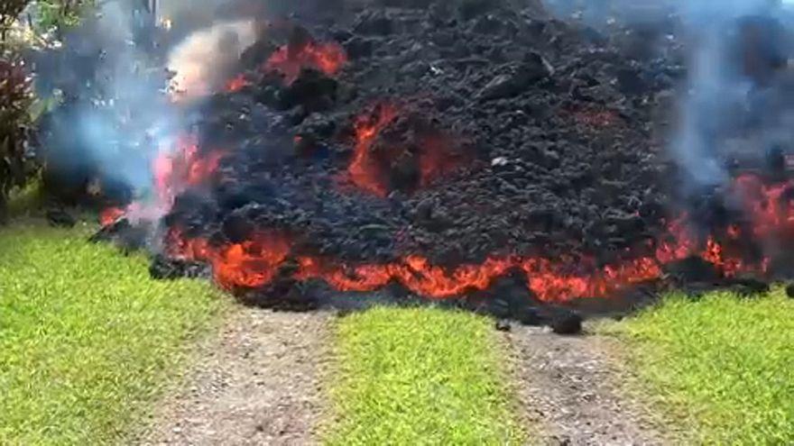 Tovább pusztít a láva Hawaiin