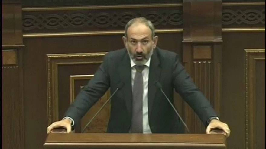 Никол Пашинян - новый премьер Армении