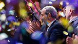 رهبر مخالفان ارمنستان، نخست وزیر شد