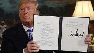 Donald Trump annonce le retrait des Etats-Unis de l'accord sur le nucléaire iranien