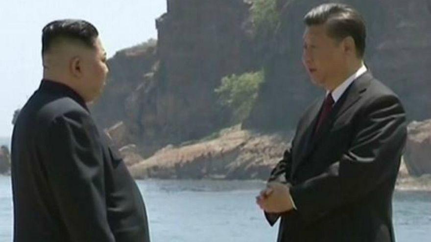 Kuzey Kore lideri Kim Jong Un'un Çin'e sürpriz ziyareti