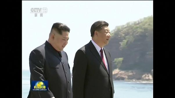 Visite surprise de Kim Jong-un en Chine