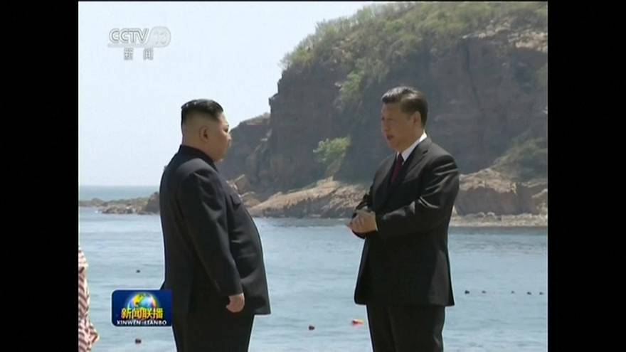 North Korean leader Kim Jong-un pays second visit to China
