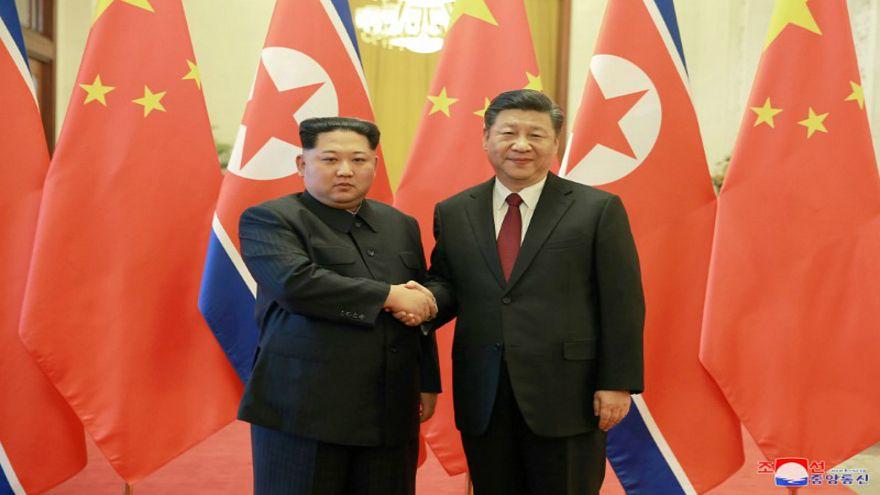 كيم جونغ أون يزور الصين للمرة الثانية خلال شهرين ويلتقي شي