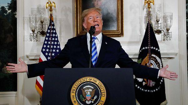Trump anuncia la retirada de Estados Unidos del acuerdo nuclear iraní