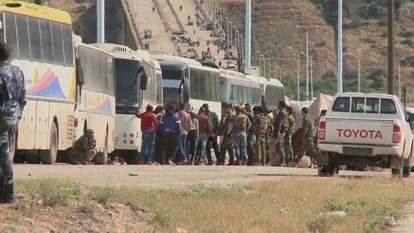 Hama ve Humus arasındaki karayolu 6 yıl sonra açılıyor
