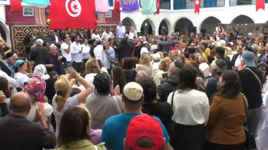 """مفتي الجمهورية التونسية يقع في """"شرك"""" القناة7 الإسرائيلية"""