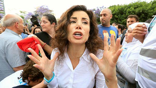Választási csalás miatt tüntettek Libanonban