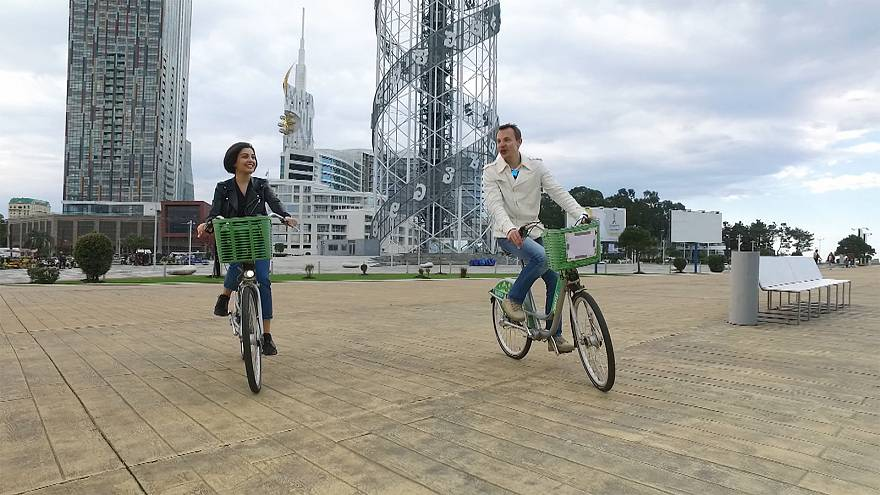 Bisikletle Batum ziyareti