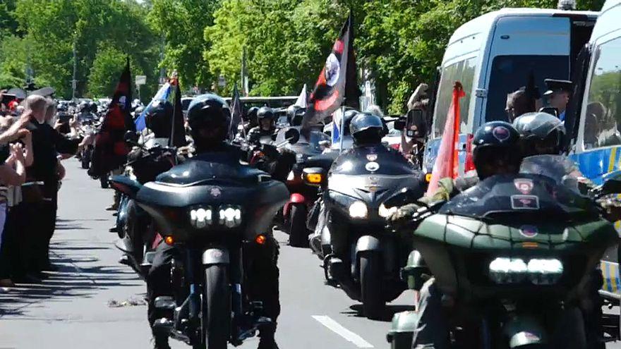 Rus motorcular 'Gece Kurtları' Prag'da