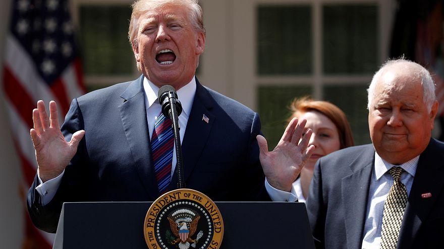 Trump fala na Casa Branca