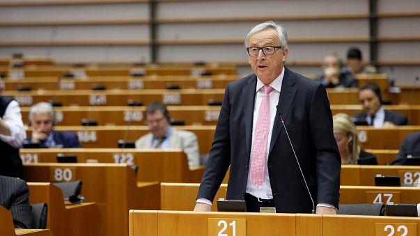Le président de la Commission européenne Jean-Claude Juncker