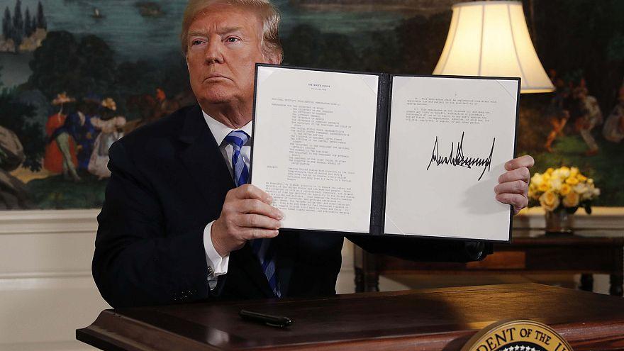 Ντ.Τραμπ: Οι ΗΠΑ αποχωρούν από τη συμφωνία για τα πυρηνικά του Ιράν