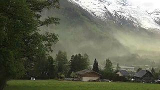 Le menaçant nuage de pollen sur Chamonix