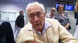 El centenario australiano David Goodall visita la clínica de Basilea que le ayudará a morir