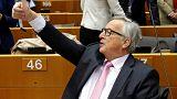 Juncker in EP