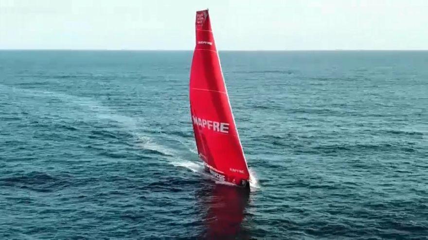 Triunfo de etapa y liderato para el Mapfre en la Volvo Ocean Race